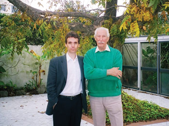 Juan Estadella and Boris Cristoff in Montevideo (Uruguay), 2006.
