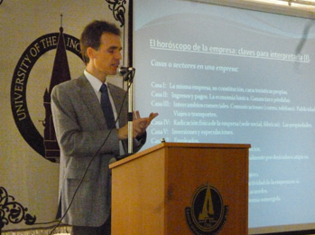 Seminar on Entrepreneurial Astrology in Mexico DF (Mexico), 2011.
