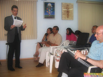 Seminar on Mundane Astrology in Mexico DF (Mexico), 2008.